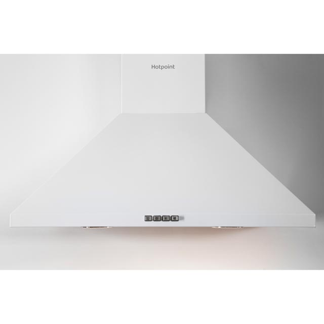 Hotpoint PHPC6.5FLMX Built In Chimney Cooker Hood - White - PHPC6.5FLMX_SS - 3