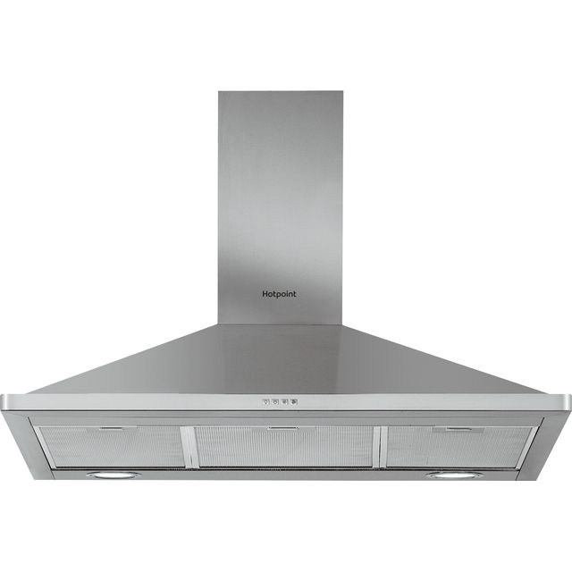 Hotpoint PHPN9.5FLMX 90 cm Chimney Cooker Hood - Stainless Steel - D Rated - PHPN9.5FLMX_SS - 1