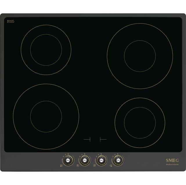 Smeg Cortina 60cm Induction Hob - Anthracite
