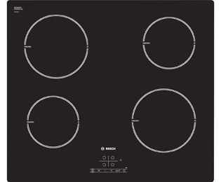 Bosch Serie 4 PIA611B68B 59cm Induction Hob - Black
