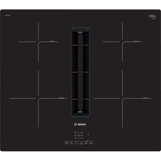 Bosch Serie 4 PIE811B15E 80cm Venting Induction Hob – Black
