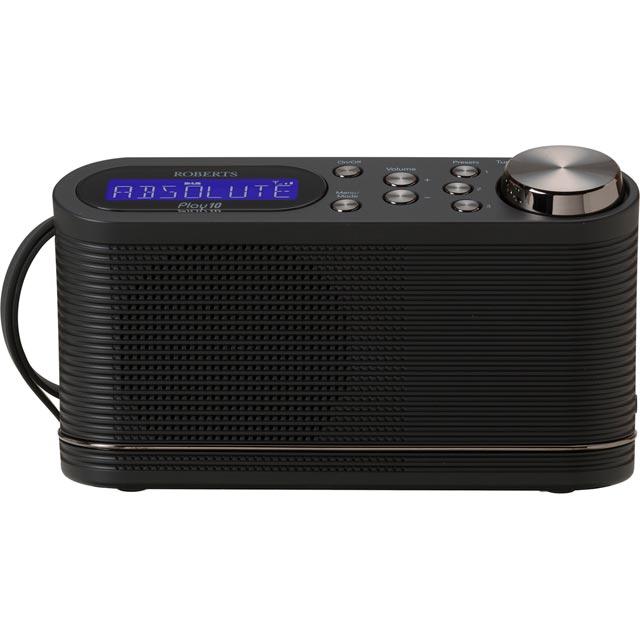 Roberts Radio Play10 Digital Radio in Black