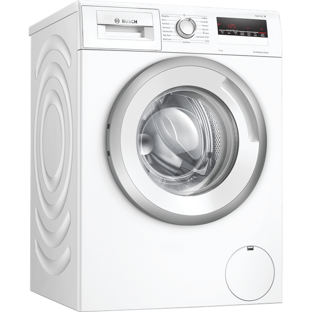 Bosch Serie 4 WAN28281GB 8Kg Washing Machine with 1400 rpm - White - C Rated
