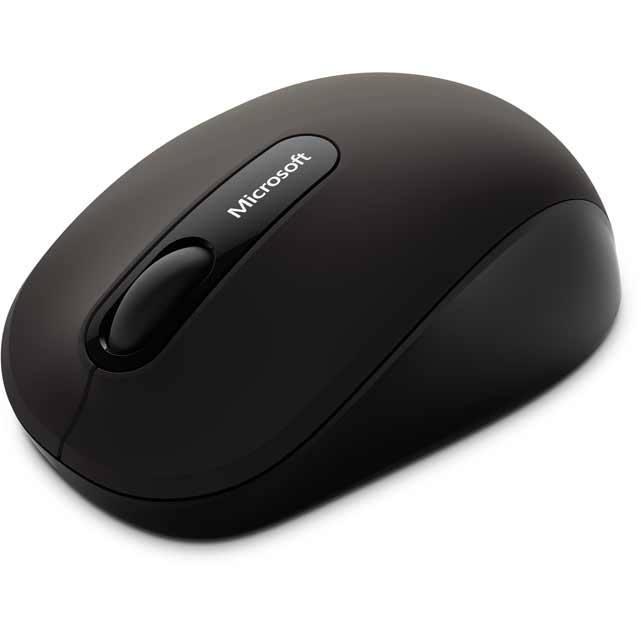 Microsoft Bluetooth Mobile 3600 Mouse - Black - PN7-00003 - 1