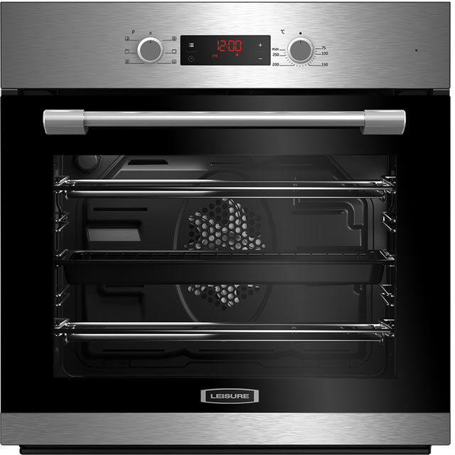 Leisure POIM52300XP Built In Electric Single Oven - Stainless Steel - A Rated - POIM52300XP_SS - 1