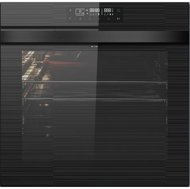Leisure Patricia Urquiola POIM59600 Built In Electric Single Oven - Black Glass - A Rated - POIM59600_BK - 1