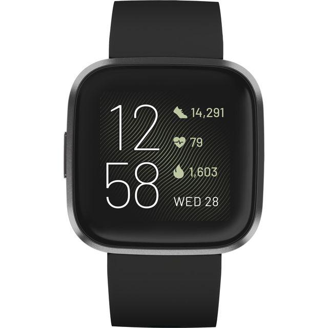 Fitbit Versa 2 Smart Watch - Black