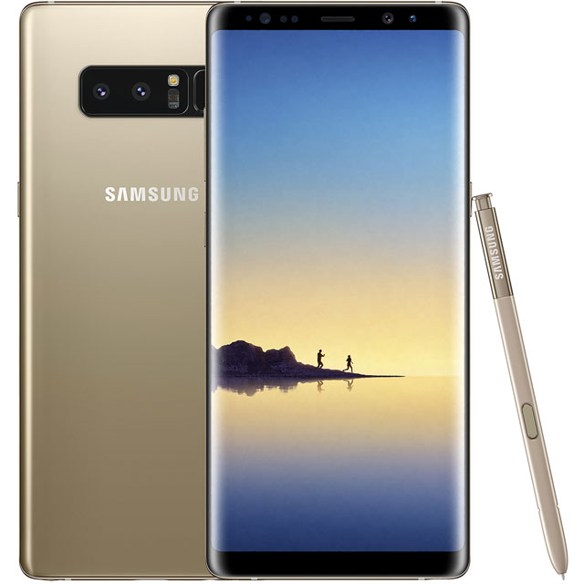 Samsung Premium Pre-owned Galaxy Note 8 64GB Smartphone in Gold