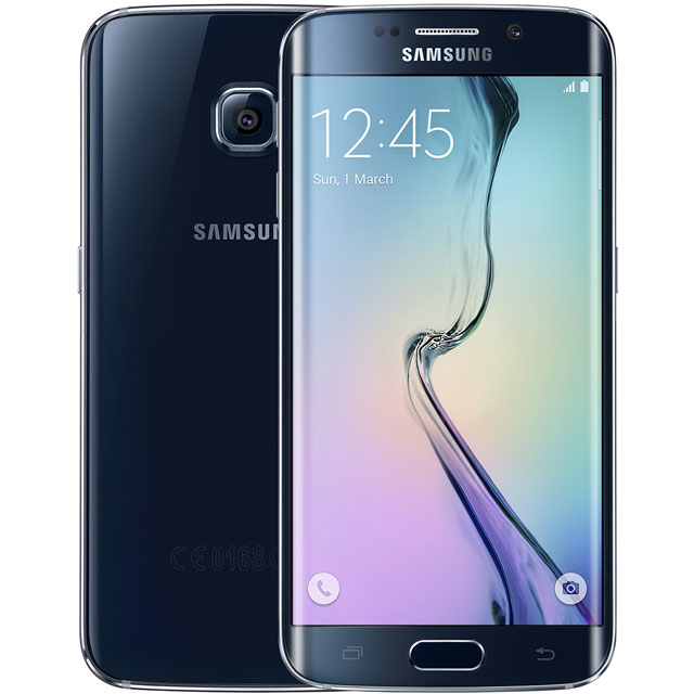 Samsung Premium Pre-owned Galaxy S6 Edge 32GB Smartphone in Black