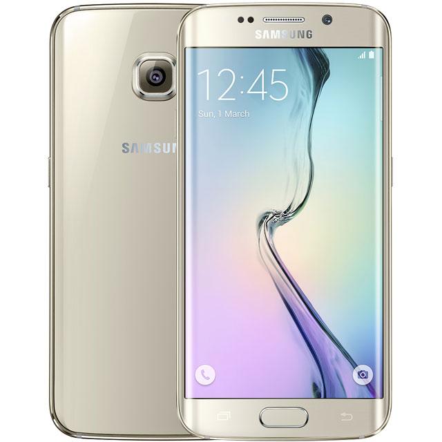 Samsung Refurbished PPLS6EDGE32GBGLDRAVAT Mobile Phone in Gold