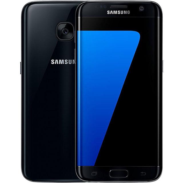 Samsung Refurbished PPLS7EDGE32GBBLKRAVAT Mobile Phone in Black