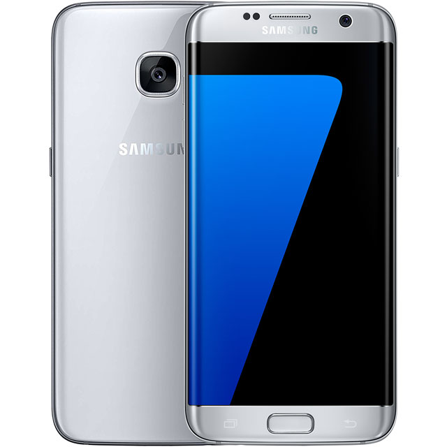 Samsung Premium Pre-owned Galaxy S7 Edge 32GB Smartphone in Silver