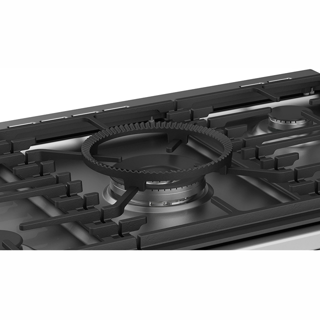 Stoves Precision DX S900G Gas Range Cooker - Black - Precision DX S900G_BK - 5