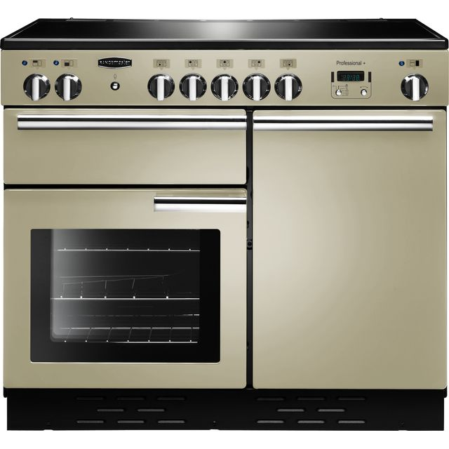 Rangemaster PROP100EICR/C Professional Plus 100cm Electric Range Cooker - Cream - PROP100EICR/C_CR - 1