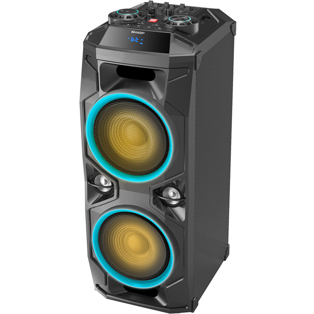 Sharp Audio PS-940 Party Speaker in Black