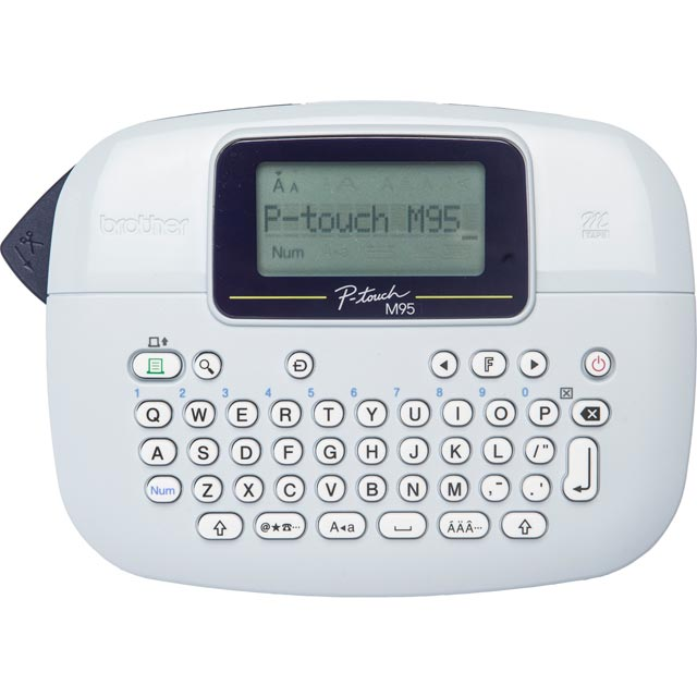 Brother PT-M95 Label maker Label Printer - Black