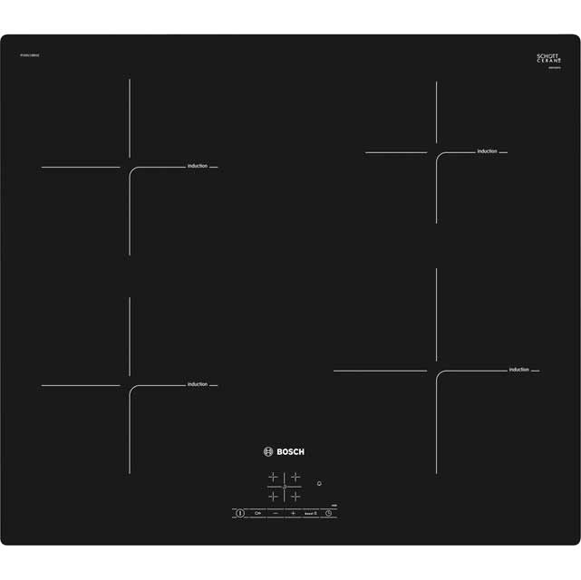 Bosch Serie 4 PUE611BB1E 59cm Induction Hob - Black