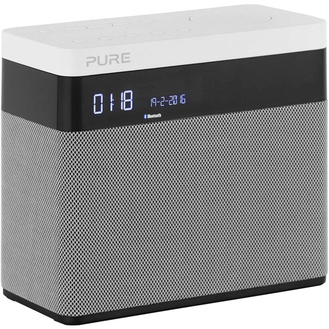Pure Pop Maxi DAB / DAB+ Digital Radio with FM/AM Tuner - Grey - Pop Maxi - 1