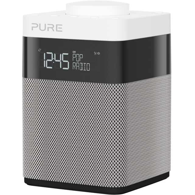 Pure Pop Mini DAB / DAB+ Digital Radio with FM/AM Tuner - Grey - Pop Mini - 1