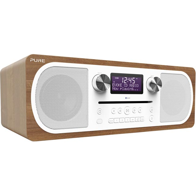 Pure Evoke C-D6 DAB / DAB+ Digital Radio with FM Tuner - Walnut