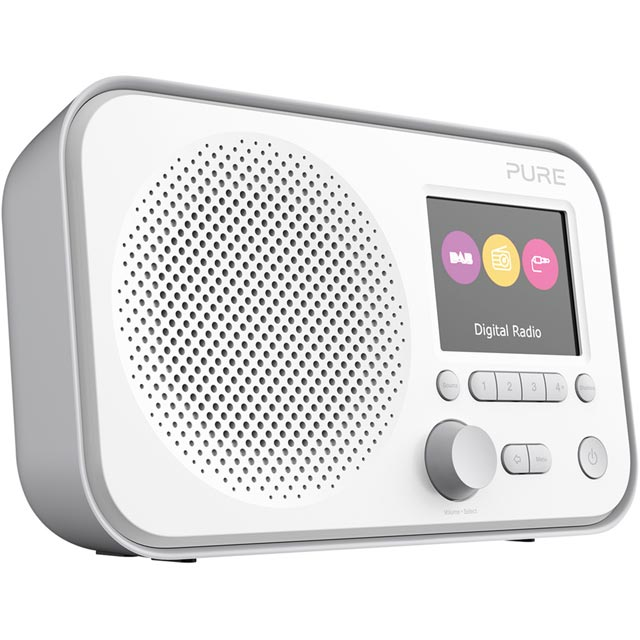Pure Elan E3 DAB / DAB+ Digital Radio with FM Tuner - Grey