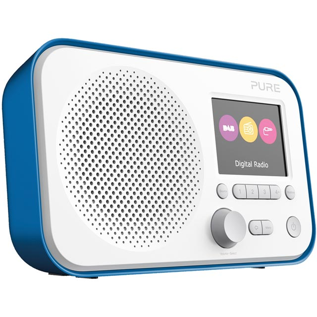 Pure Elan E3 VL-62953 Digital Radio in Blue