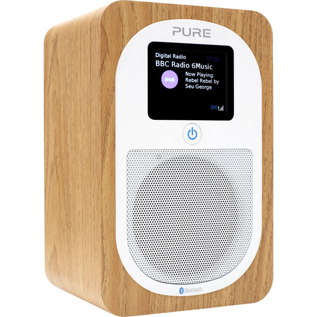Pure Evoke H3 DAB / DAB+ Digital Radio with FM Tuner - Oak - VL-62968 - 1