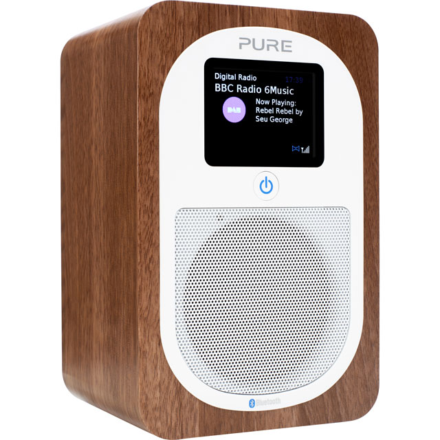 Pure Evoke H3 DAB / DAB+ Digital Radio with FM Tuner - Walnut - VL-62969 - 1