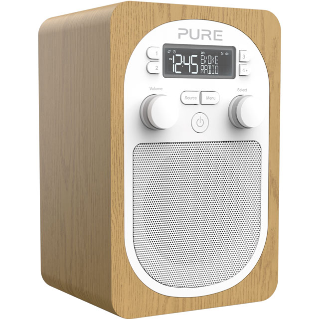 Pure Evoke H2 DAB / DAB+ Digital Radio with FM Tuner