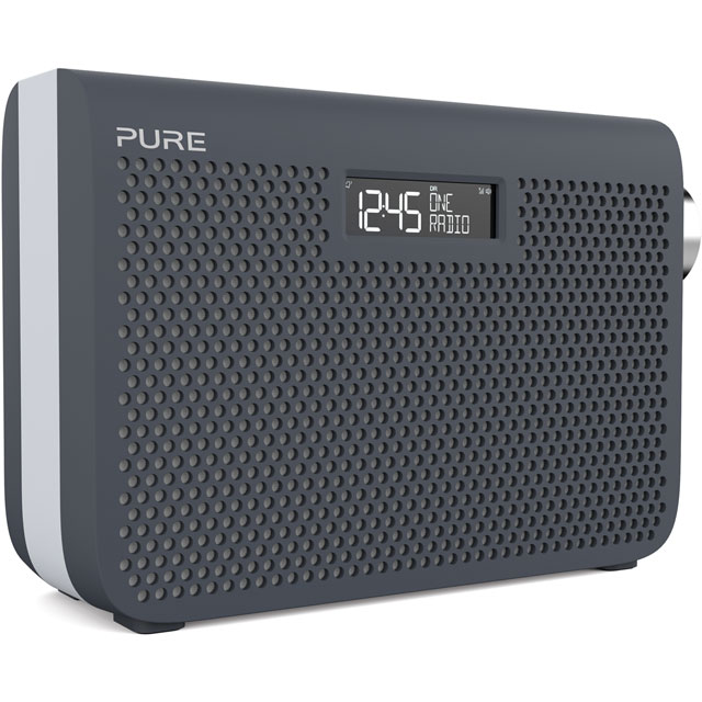 Pure One Midi Series 3s DAB / DAB+ Digital Radio with FM Tuner - Slate Blue - VL-63011 - 1
