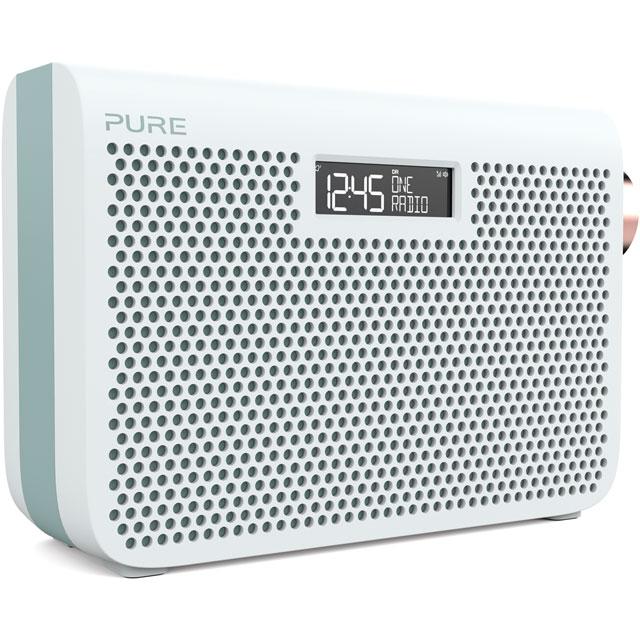 Pure One Midi Series 3s 149953 Digital Radio in Jade White