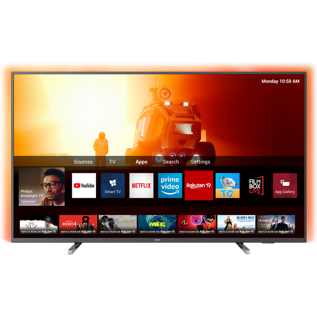 "Philips 58PUS7805 58"" Smart 4K Ultra HD TV - Grey - 58PUS7805 - 1"