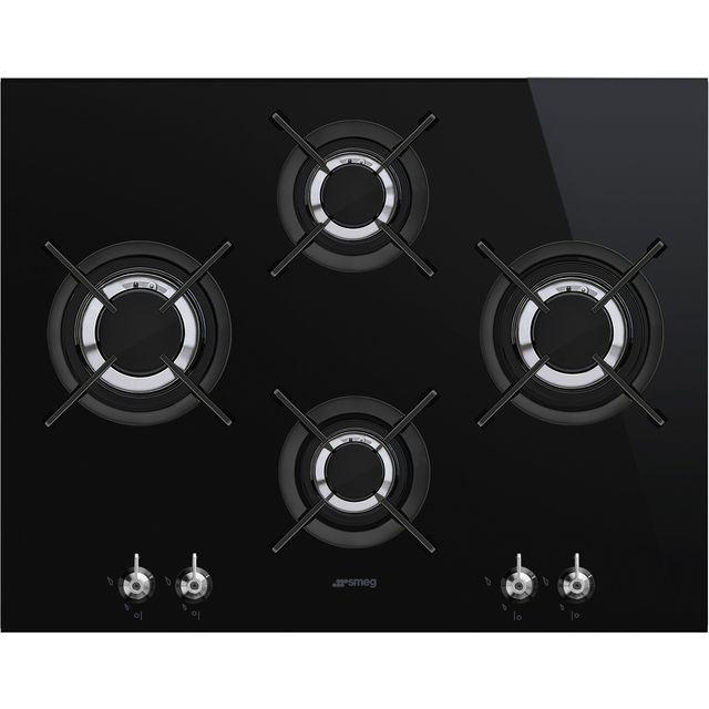 Smeg Classic PV364LCN 65cm Gas Hob – Black