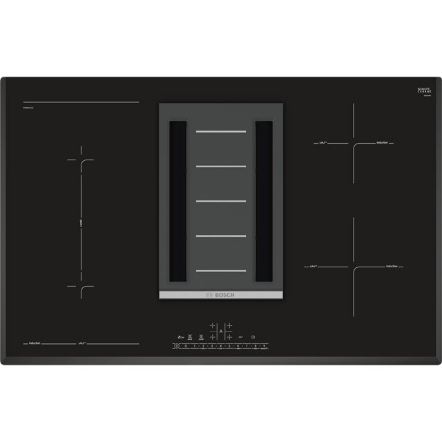Bosch Serie 6 80cm Induction Hob - Black