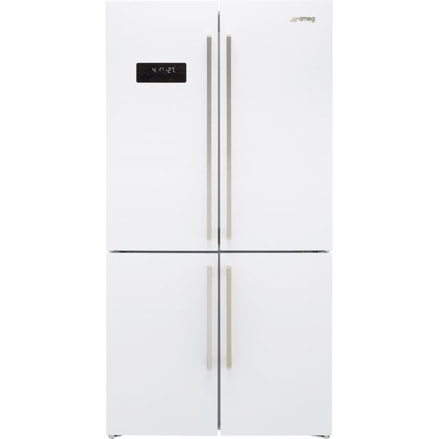 Smeg FQ60BDF American Fridge Freezer - White - F Rated