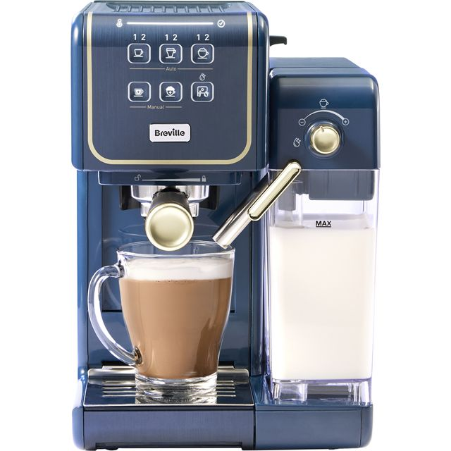 Breville VCF145 Bean to Cup Coffee Machine - Grey / Gold
