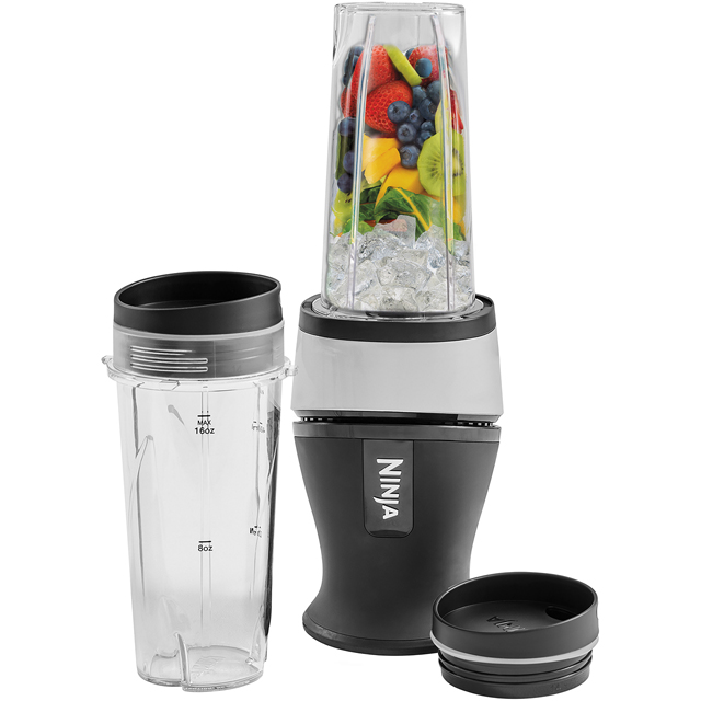 Ninja QB3001UK Smoothie Maker - Black - QB3001UK_BK - 1