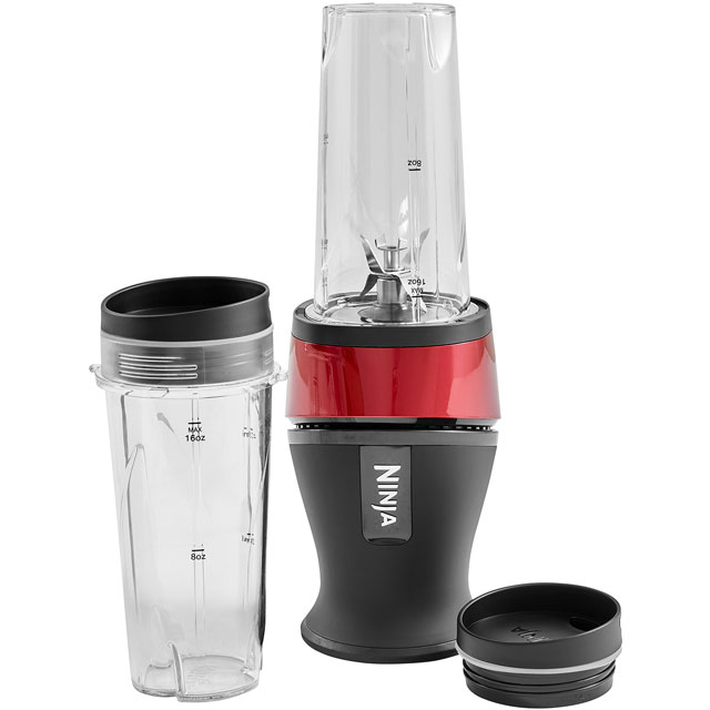 Ninja QB3001UKMR Smoothie Maker - Metallic Red