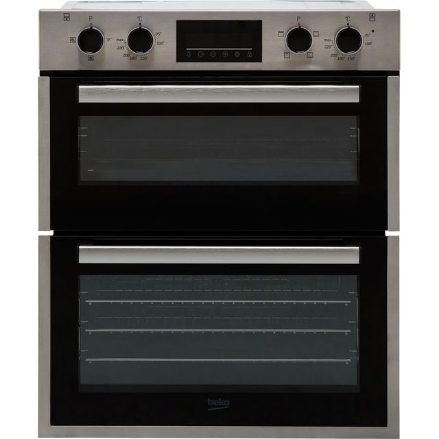 Beko Electric Built-under Double Oven - Stainless Steel