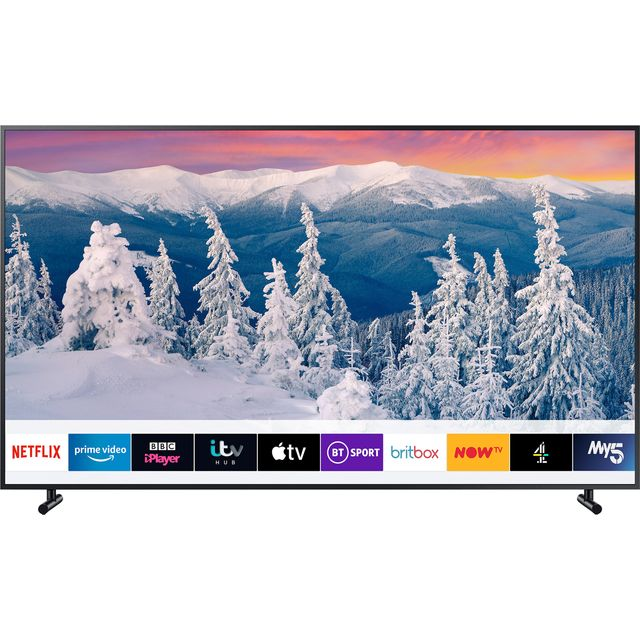 "Samsung QE43LS03R The Frame 43"" Smart QLED 4K Ultra HD TV with HDR10+, Art Mode and Apple TV - Charcoal Black - QE43LS03R - 1"