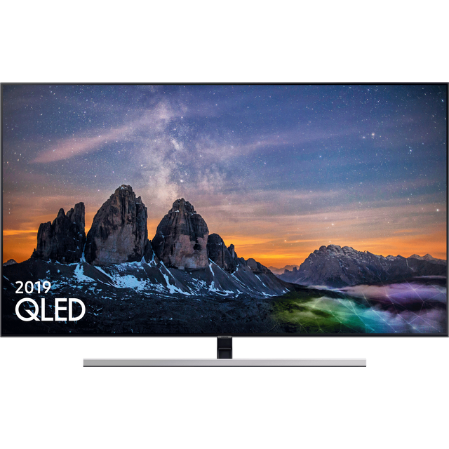 "Samsung QE55Q80RA 55"" Smart 4K Ultra HD TV - Black - QE55Q80RA - 1"