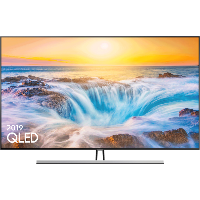 "Samsung QE55Q85RA 55"" Smart 4K Ultra HD TV - Carbon Silver - QE55Q85RA - 1"