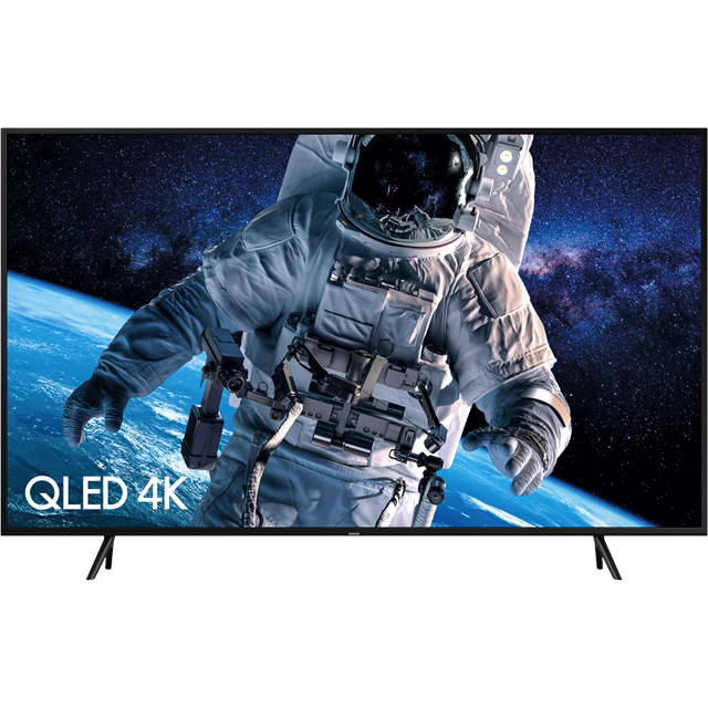 "Samsung QLED QE65Q60RA 65"" Smart HDR 4K Ultra HD TV With 100% Colour Volume, Quantum Processor 4K and Ambient Mode - QE65Q60RA - 1"