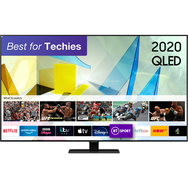 "Samsung QE65Q80TA 65"" Smart 4K Ultra HD QLED TV"