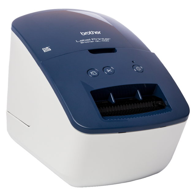 Brother QL600BZU1 Label Printer Printer - Blue / Black