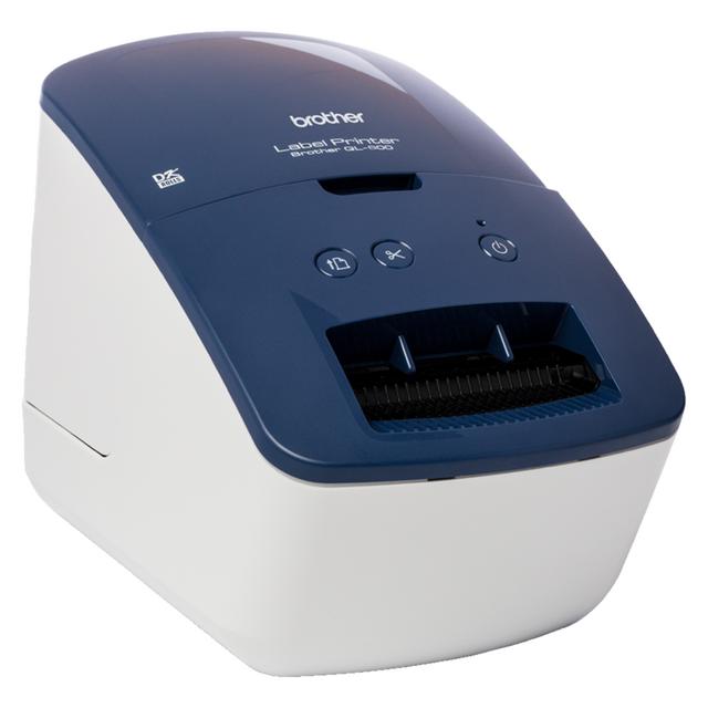 Brother QL600BZU1 Label Printer Printer - Blue / Black