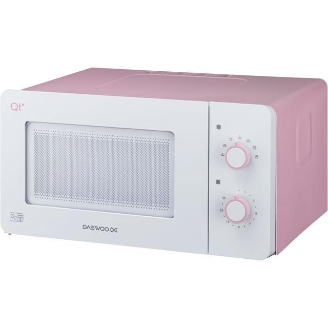 Daewoo QT3R 14 Litre Microwave - Pink