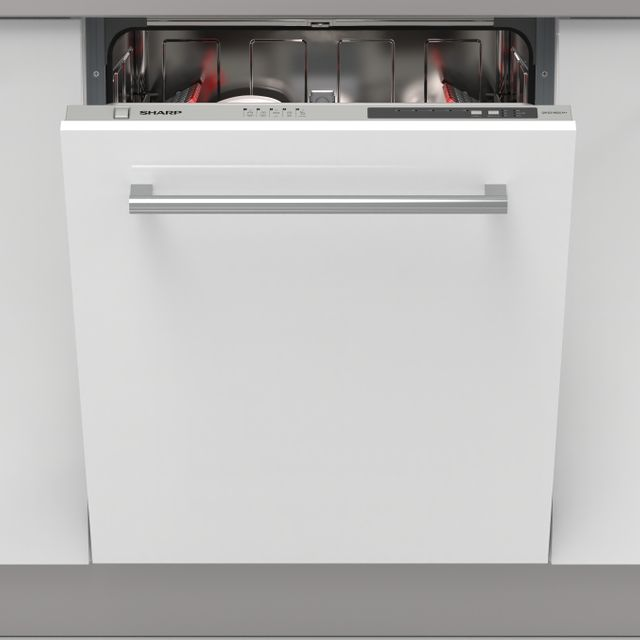 Sharp QW-D21I492X Integrated Dishwasher in Stainless Steel