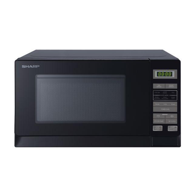 Sharp R220DKM 20 Litre Microwave - Dark Silver
