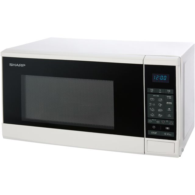 Sharp R270WM 20 Litre Microwave - White - R270WM_WH - 1